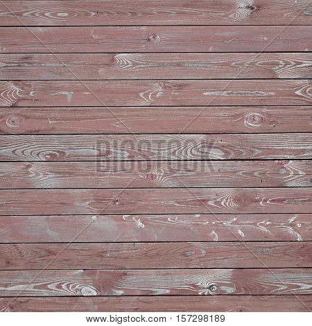 Frame Old Barn Wood Background. Brown Red Wooden Square Texture. Timber Isolated Outdoor Signboard Or Billboard With Copy Space. Shabby Paint Pine Panel