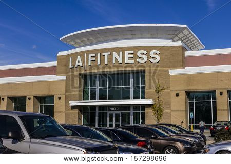 Indianapolis - Circa November 2016: LA Fitness Health Club. LA Fitness is a privately owned health chain with over 500 clubs across the US II