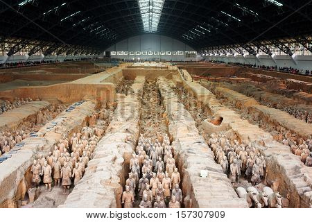The Famous Terracotta Army, The Qin Shi Huang Mausoleum