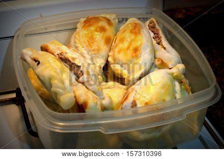 Empanadas de carne Caseras Argentinas tradicionales de la region