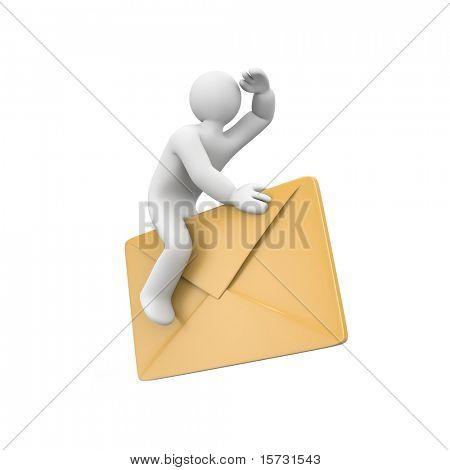 Едет по электронной почте