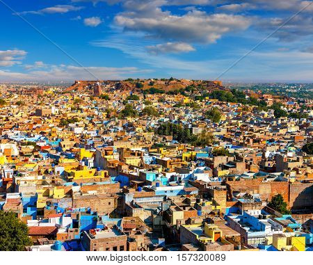 View 0f Jodhpur Rajasthan India Asia architecture