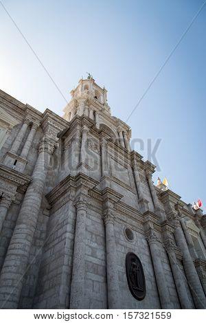 Basílica Catedral de Arequipa @ Arequipa, Peru
