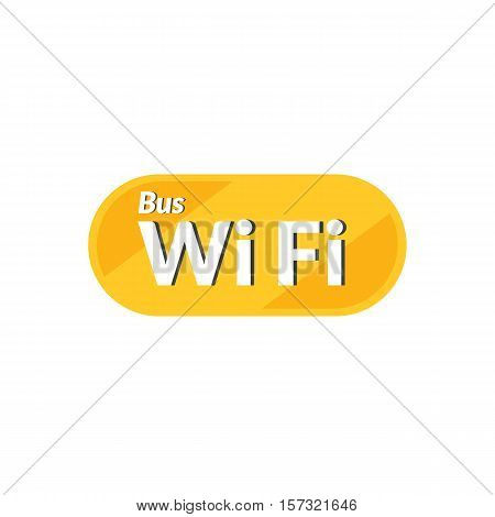 Bus Wifi Icon Is Basic Vector Icon, Eps10