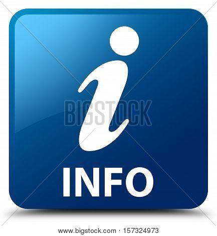 Info ( inquiry )  blue square button