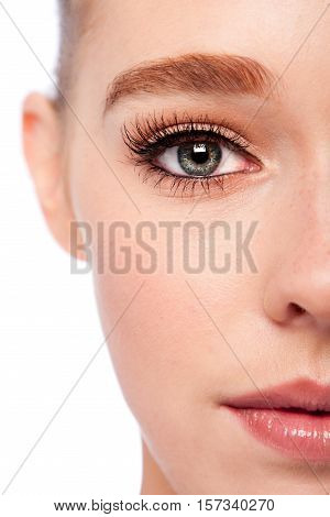 Beauty Eye And Half Face