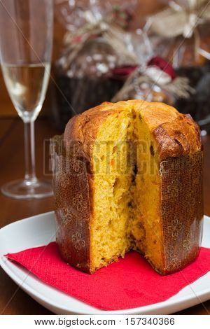 Panettone is a typical sweet of the Christmas tradition and widely distributed across Italy