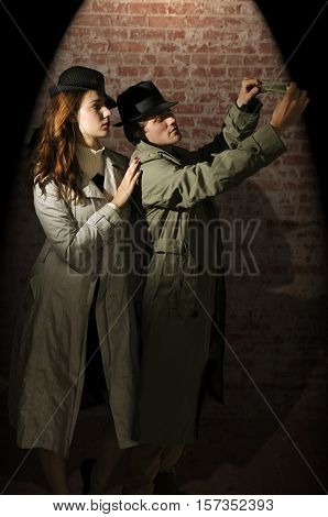 Man And Woman Spies
