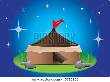Tent At Night
