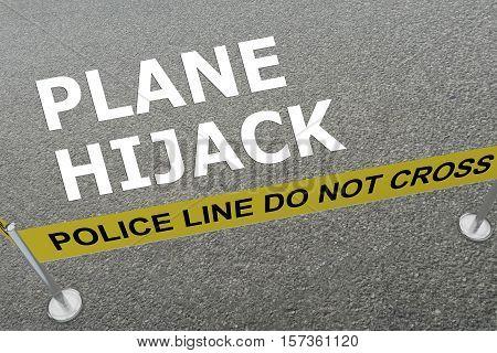 Plane Hijack - Criminal Concept