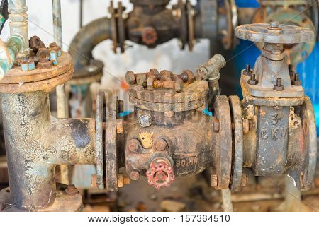 Old Check Valve