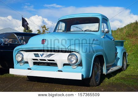 SAINT PETERSBURG, RUSSIA - SEPTEMBER 04, 2016: American pickup truck