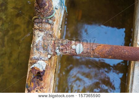 Steel Pipes Rust