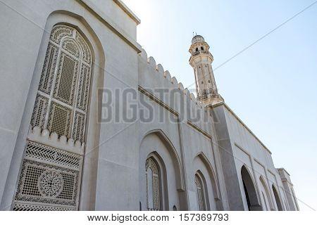 Sultan Qaboos Grand Mosque in Salalah, Dhofar Region of Oman