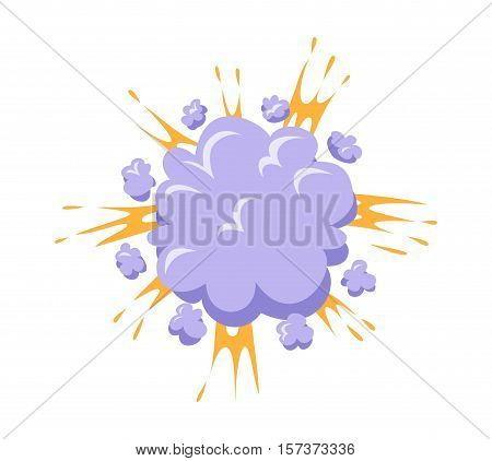 Boom explosives effect detonation of bomb. Boom explosion fuel dynamite gas eruption. Boom explosion burst art blast dynamite explode petard splash sale speech.