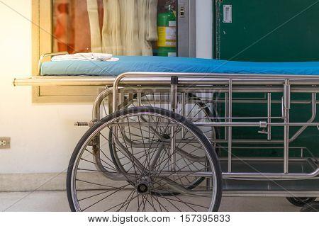 Emergency Bed Empty In Hospital