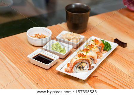 Maki Japanese Food