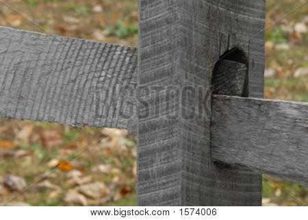 Wooden Fence Link