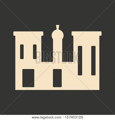 Flat in black and white mobile application palace Egypt