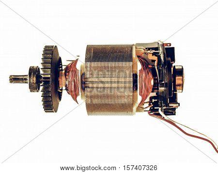 Vintage Looking Electric Engine