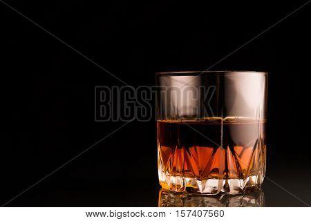 Glass Of Scotch Whiskey