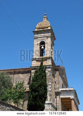 Montalcino - The Cathedral of San Salvatore