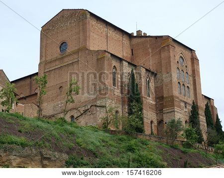 The Basilica of San Domenico also known as Basilica Cateriniana