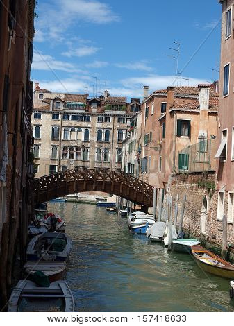 Venice - peaceful and charming district of Dorsoduro