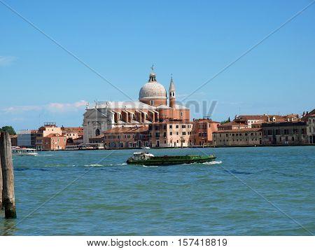 Venice - Giudecca Canal and Redentore church