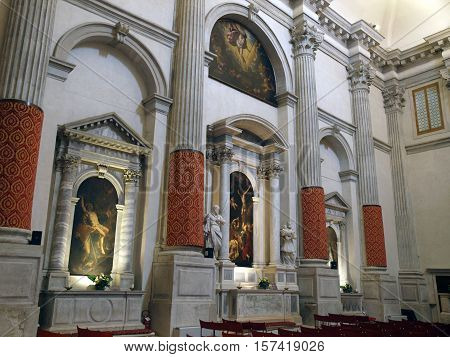 VENICE, ITALY - MAY 22, 2010: Venice - Church of San Vidal. Sestiere of San Marco