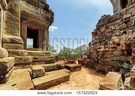 Ruins Of Ta Keo Temple In Ancient Angkor, Siem Reap, Cambodia