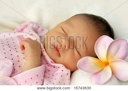 newborn Baby schläft