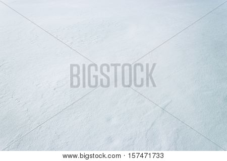 White very cold snowy surface texture blank