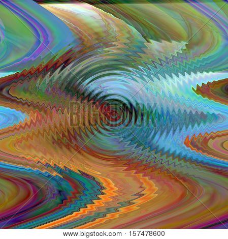 Abstract background of the horizon gradient with illusion,shear and zigzag effects,good for your project design