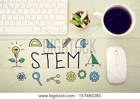 Stem Concept With Workstation
