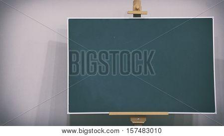 School Board, Chalk Inscription On The School Board, Boarding School