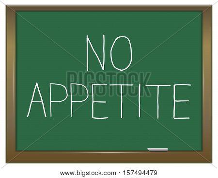No Appetite Concept.