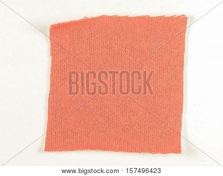 Vintage Looking Red Fabric Sample