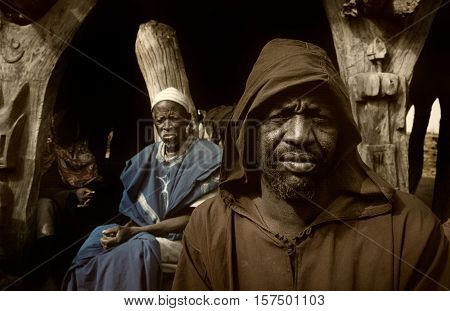 Dogon Village, Dogon Land, Tireli, Mali, Africa