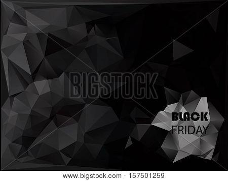 Black Friday Sale Inscription Design Template. Banner. Limited Time. Vector Illustration