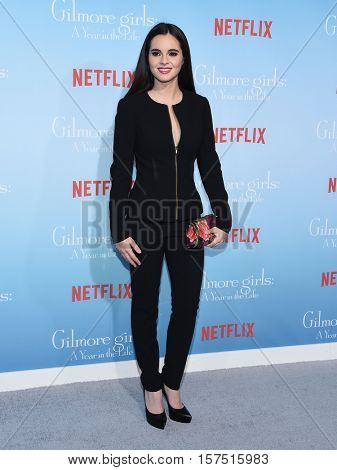 LOS ANGELES - NOV 18:  Vanessa Marano arrives to the Netflix's 'Gilmore Girls: A Year In The Life' Premiere on November 18, 2016 in Westwood, CA