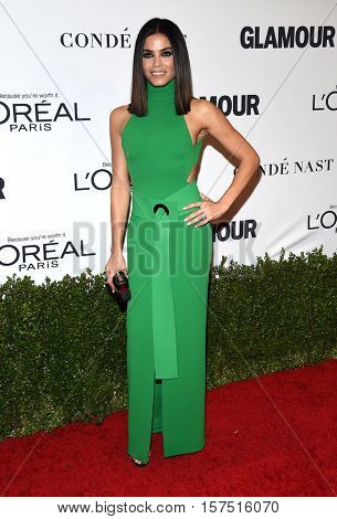 LOS ANGELES - NOV 14:  Jenna Dewan-Tatum arrives to the Glamour Celebrates Women of the Year Awards 2016 on November 14, 2016 in Hollywood, CA