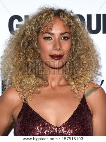 LOS ANGELES - NOV 14:  Leona Lewis arrives to the Glamour Celebrates Women of the Year Awards 2016 on November 14, 2016 in Hollywood, CA