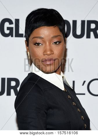 LOS ANGELES - NOV 14:  Keke Palmer arrives to the Glamour Celebrates Women of the Year Awards 2016 on November 14, 2016 in Hollywood, CA