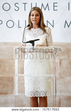 NEW YORK-MAY 5: Cosmetics heiress Aerin Lauder attends the ribbon cutting ceremony for the Anna Wintour Costume Center Grand Opening at the Metropolitan Museum of Art on May 5, 2014 in New York City.