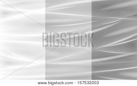 a real transparent plastic warp background texture