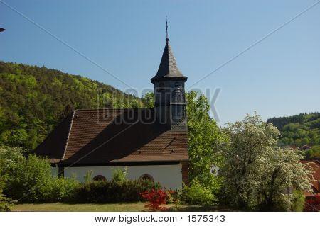 Hohenecken Church Pastoral  View