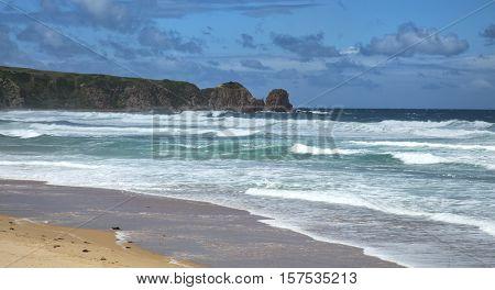 Anzacs beach in Philip Island, Australia