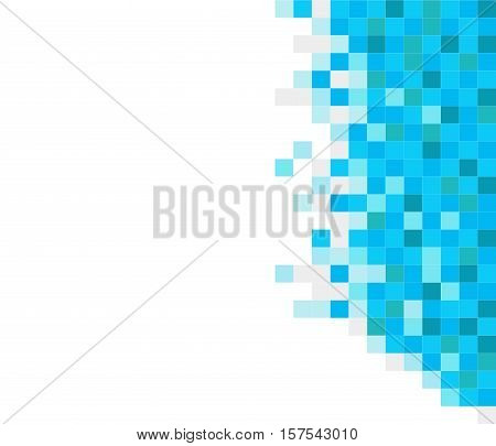 abstract square pixel mosaic background.  square pixel background.