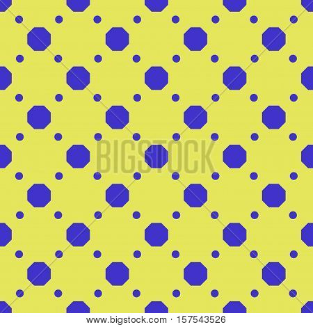 Polka dot geometric seamless pattern. Fashion graphic background design. Modern stylish abstract texture. Colorful template for prints textiles wrapping wallpaper etc Stock VECTOR illustration